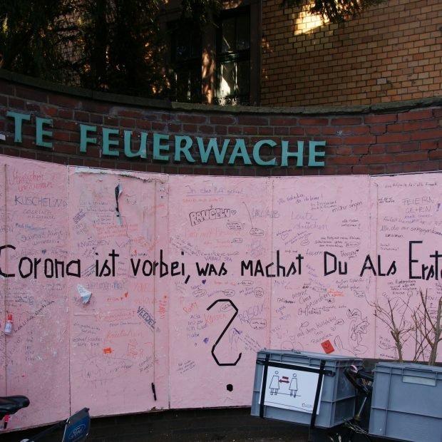 Strassenkarneval in Coronazeiten/ Köln