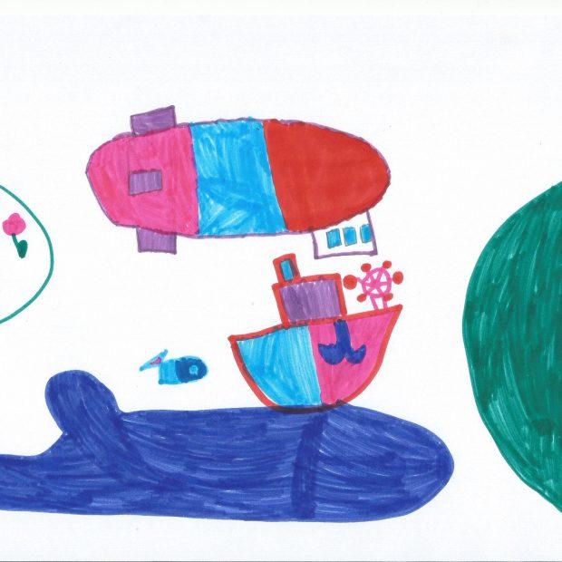 Der Zeppelin und der Bodensee