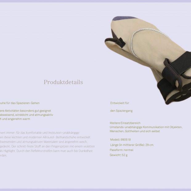 Bethandschuh (english: Praying-Glove)