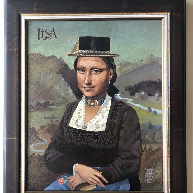 (Mona-) LISA von Anton Blank