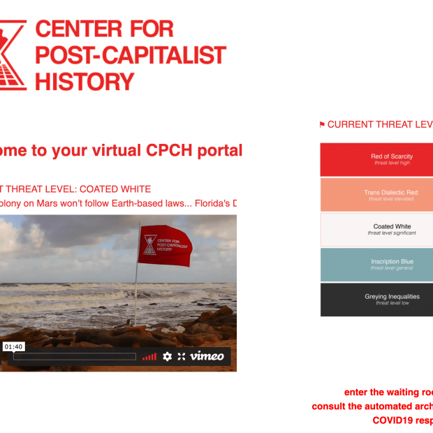 Center for Post-Capitalist History Virtual Portal