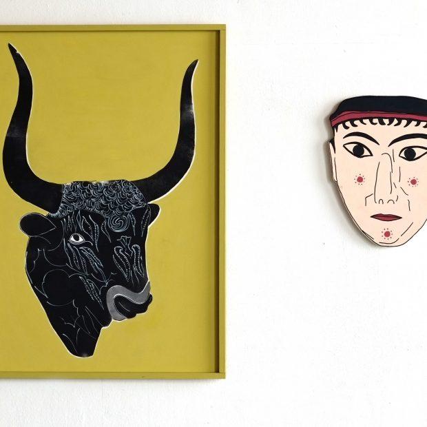 Stierkopf & Maske