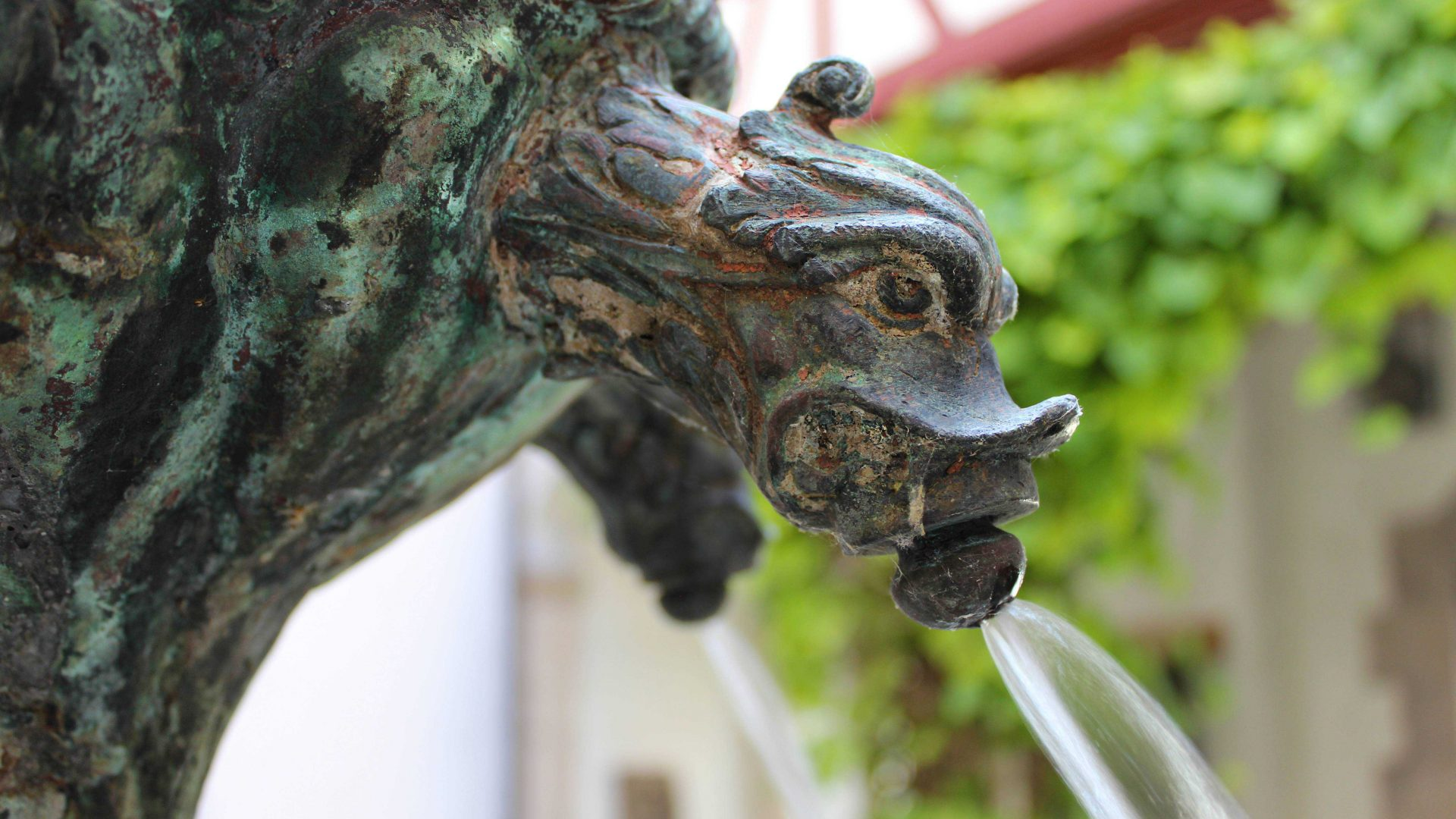 Fountain in the Renaissance courtyard of Museum Ulm, Foto: Judith Bahr / Museum Ulm