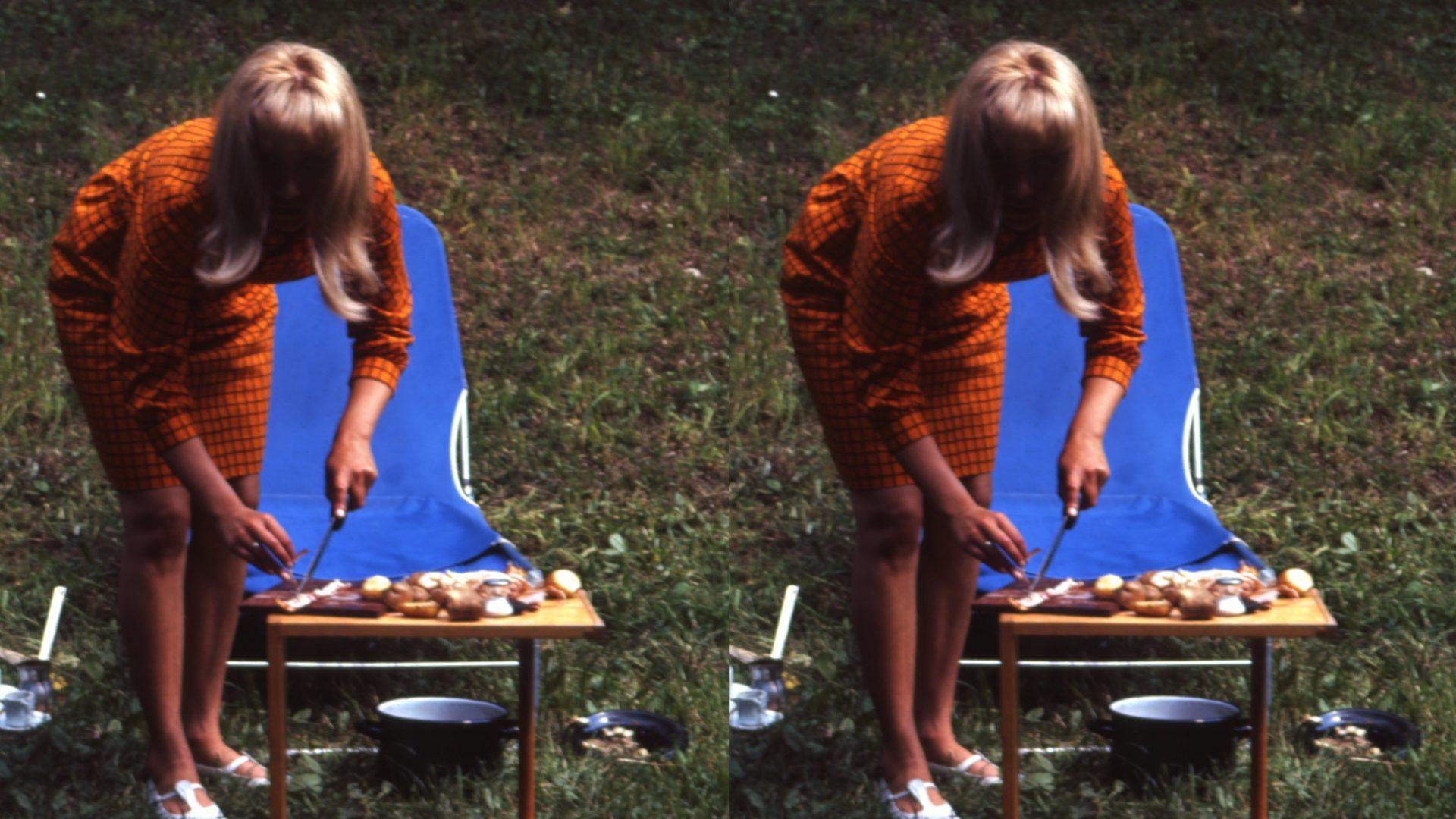 Fotografie Michael Penck, circa 1965, Inv Nr. Dp 069.005, Copyright HfG-Archiv / Museum Ulm